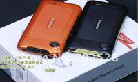Мобильный телефон Original Lenovo A660 phone russia polish menu three anti-mobile phone dual-core 1.2G cpu dual sim card