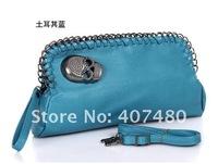 free shipping skull rock punk day evening bag clutch shoulder bag  Handbag vintage Designer Lady Fashion multi color option