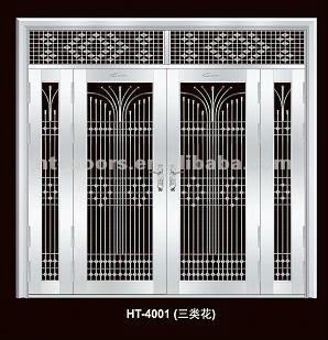 Portes daposentre en aluminium