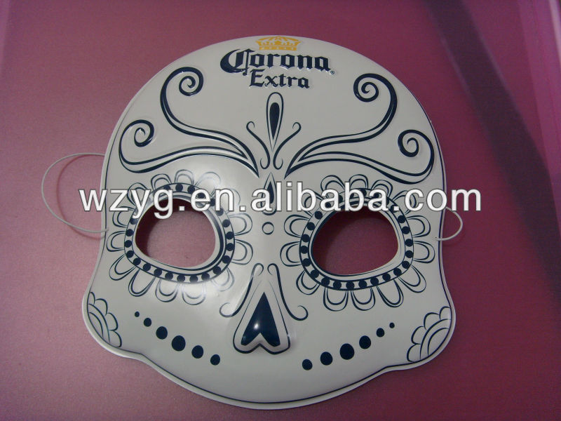 2014 customized PVC horrible plastic Halloween mask