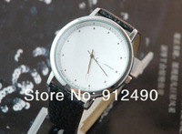 Наручные часы Hot Sale! Fashion 5 Colors Girls Lady Quartz Steel leather watch Wrist Watch wrist watches + Gift box