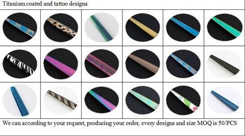 Hand Made Co<em></em>nvex edges Beauty Scissors