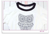 Freeshipping Brand new Best ladies' blouse women's cotton T-shirt  HQ008