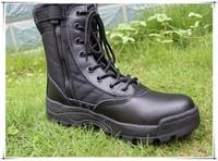 "Женские ботинки Swat desert combat 7 "" military boots-black army boots"