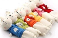 Косметичка Rabbit coin bag purse Cartoon Metoo Pencil bags Cosmetic Bag Mobile Strap, 10PCS/LOT