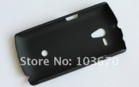 Чехол для для мобильных телефонов Rubber Hard Cover Back Skin Case For Sony Xperia Neo L MT25i, Xperia Neo L Hard Case, DHL 100pcs/lot