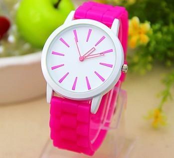 11 цветов Женские часы Классические гель кристалл силиконовые желе смотреть 1pcs/lot sexcoversell