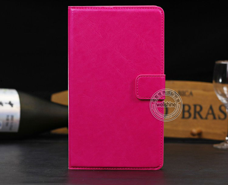 Newest Design Sucker Holder Case Leather Case For Google Nexus 7 II 2nd Gen