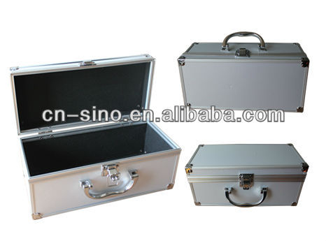 Portable Aluminum Tool Box With Wheels And Handles