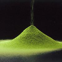 A variety of tea set Japanese powdered green tea , Matcha