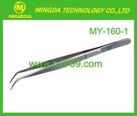 MY-160-2 High quality stainless dental tweezer ,medical tweezer ,cleanroom tweezers with CE Certification