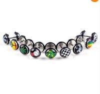 20pcs Body Jewelry Lots Fake Ear Plug Cheater Expanders 3style U Pick