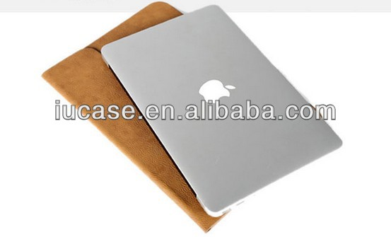 "Envelop style laptop sleeve laptop case laptop bag for macbook pro 11"" 13"""