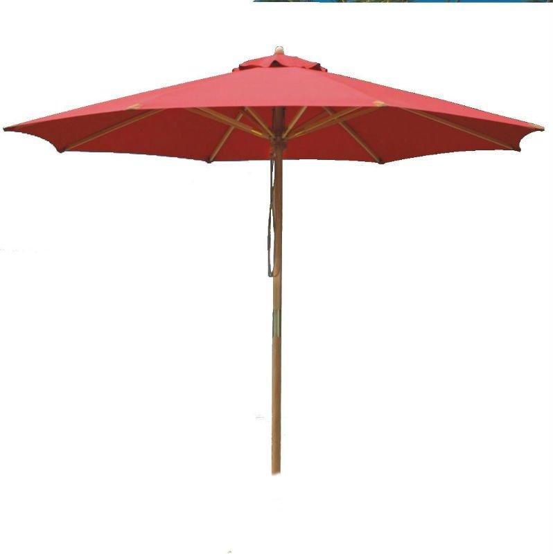 red umbrella beach parasol 11761