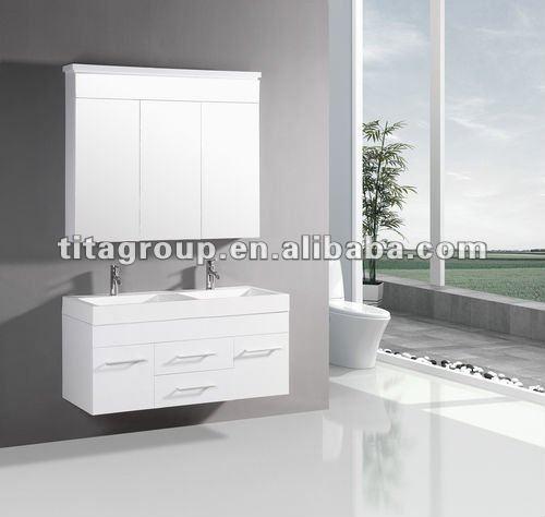 2012 moderno cuarto de baño mdf muebles tm8254-Cuarto de ...
