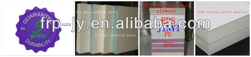 Fiberglass EPS Foam Boards with FRP(GRP) Sheet for Hatchery