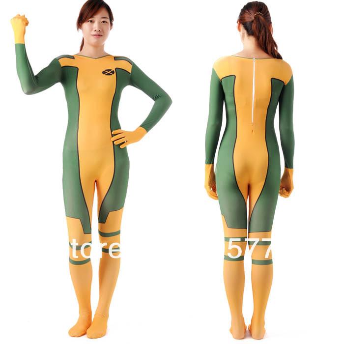 Acheter Déguisement Rogue Costume X Adulte Adulte Super Héros Costumes  Cosplay Halloween Pour Les Femmes Zetai Pleine Bodys Carnaval Rogue Costume