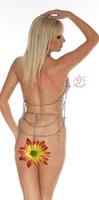 Женский эротический костюм women' underwear Adult products Sexy wild Bareu Iron chain nderwear uniforms sexy toys