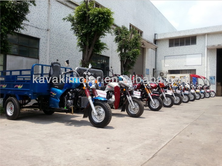 Gangzhou KAVAKI MOTOR supplier MTR 3-wheel motorcycle Africa Market