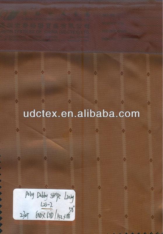 100% polyester herringbone lining fabric