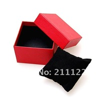 Free shipping 20pcs/lot, Gift Boxes watch Paper box  black/red