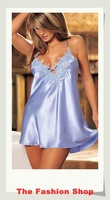 Сексуальная ночная сорочка 2012 New sexy costume, sexy lingerie, One size, YL6199, blue