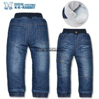 Джинсы для мальчиков Fashion leisure thickening children jeans