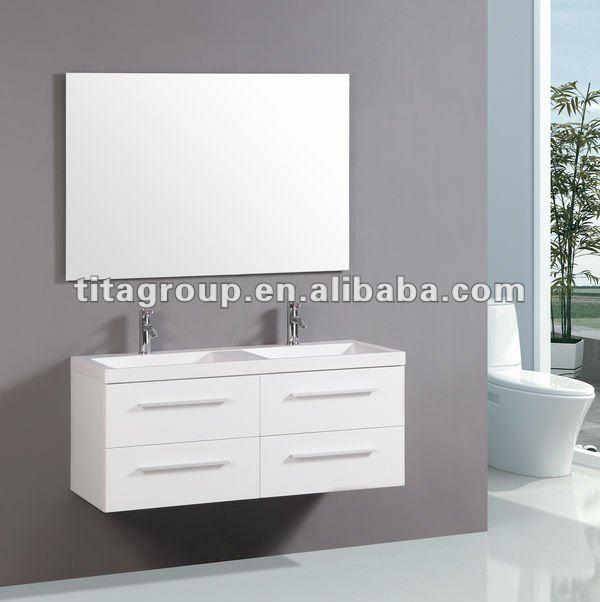 Caldo mobili da bagno di t9018a doppi lavandini armadietto id ...