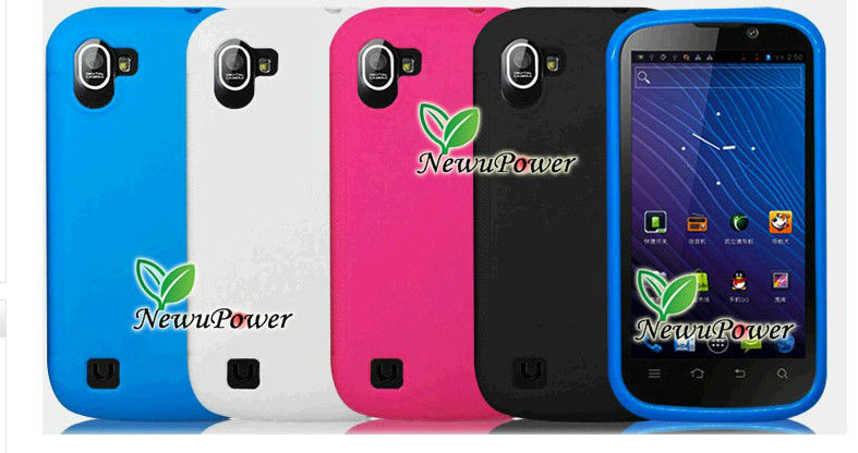 new Protective TPU case for Newman N1 smart phone MTK6577 Dual Core Android 4.0 3G WCDMA GPS smartphone mobile phone cellular