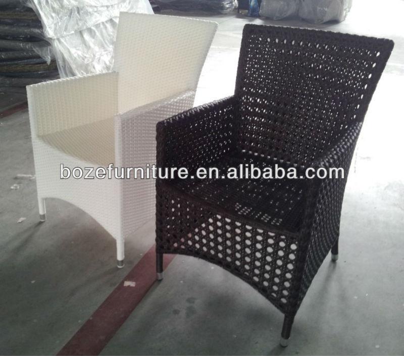 Round Wicker Armless Chairs/ Garden Wicker Single Chair - Buy ...