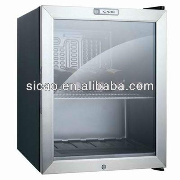 49 litres porte en verre mini bar r frig rateur h tel. Black Bedroom Furniture Sets. Home Design Ideas