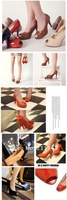 Large Size Pumps US 3-12, Sexy High Heels Shoes PeepToe Shoes 2012 Sandals Wholesales Retail Drop Shipping