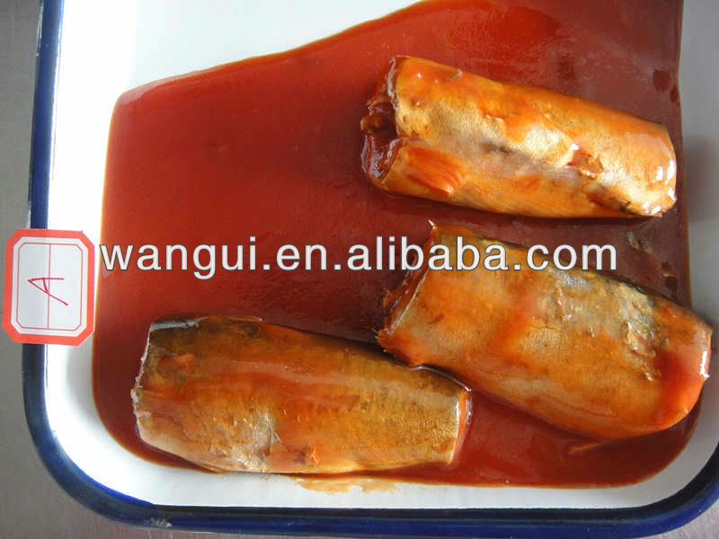 Canned Mackerel Fillet in Chilli Oil