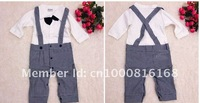 Костюм для мальчиков Boy's gentleman dress Jacket + one-piece Romper Children's Suits