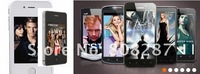 NEW S4 Smartphones android2.3 OS TV WIFI GPS 3.2 inch Dual sim F88