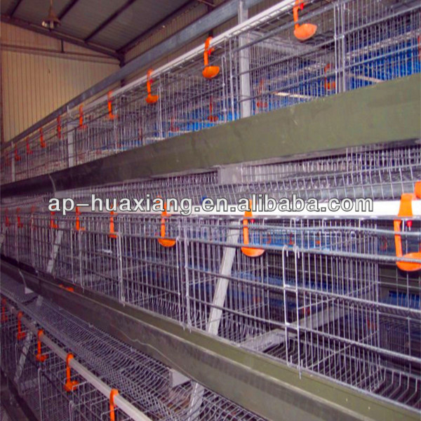 chicken mesh cage (HX-157), 6 tiers for 96 chickens per set, high quality