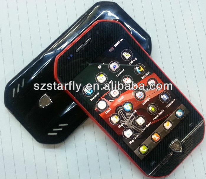 """Car shape!!! 3.5"""" inch F599 unique mobile phone"""