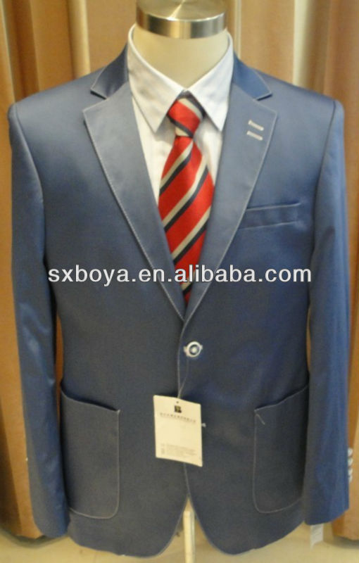 2013 latest suit styles for men