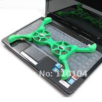 Новый складной usb 2-вентилятора охлаждения pad/супер мини-ноутбука охлаждающая