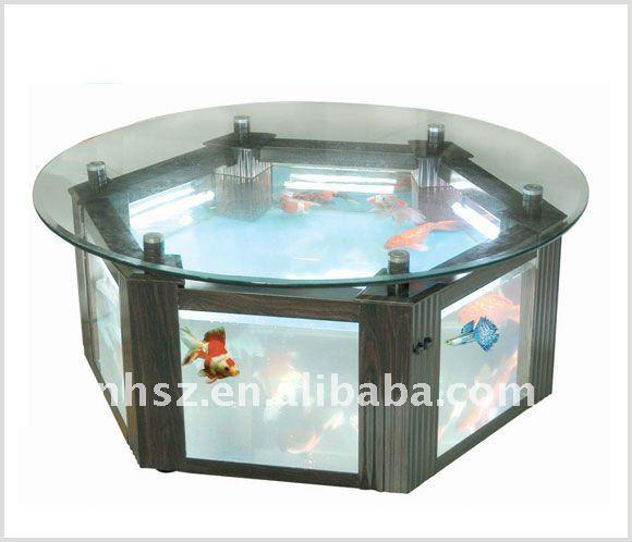 Hexagon Aquarium Table Fish Tank Buy Modern Coffee