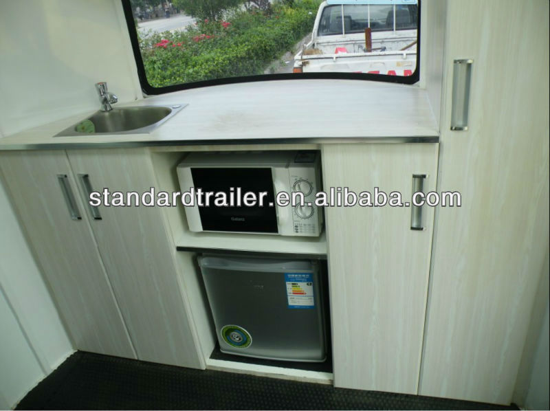 Horse floats-standard trailer made in shandong