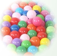 5CM PE plastic Tent Water pool Ocean wave ball, Funny toys 50pcs/lot Free Shipping