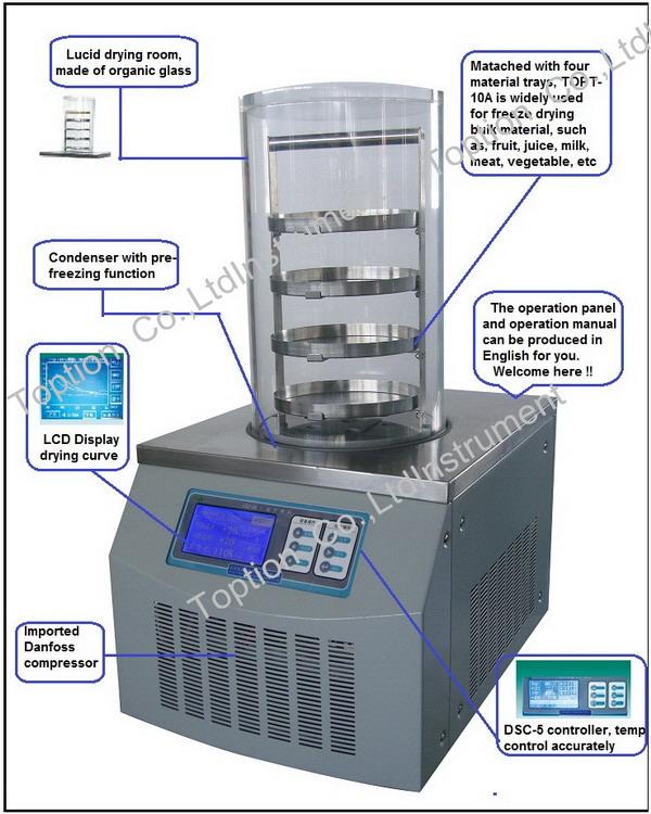 5. Freeze Dryer%5.1.2 TOPT-10Axjt#6