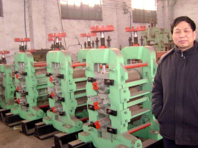 Hot rolled deformed steel bar rolling mill line