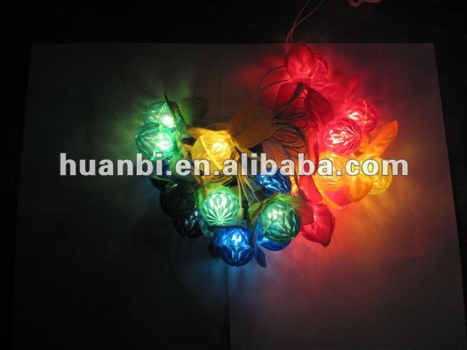 multicolor led christmas lights