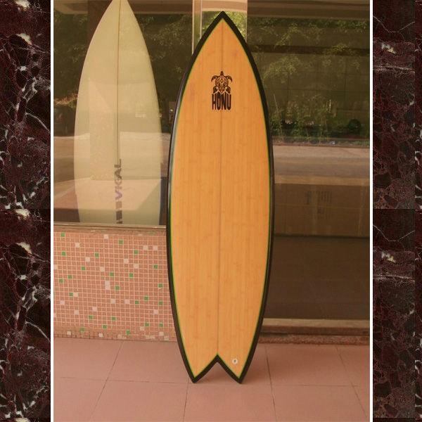 cola de pescado de bamb tabla de surfchapa de bamb tabla de surf
