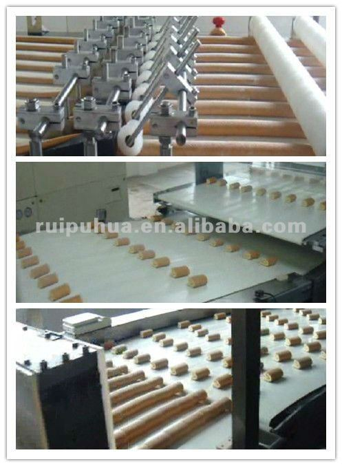 Pillow-type plastic film packing machine for moon cakes