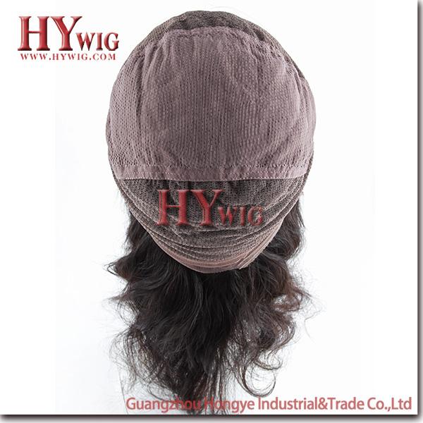 Fashion 12inch 100% Brazilain virgin human hair wig