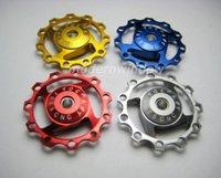 CNC Derailleur Jockey Wheel 11T Red bicycle parts Wheels Shimano or SRAM w Bearing
