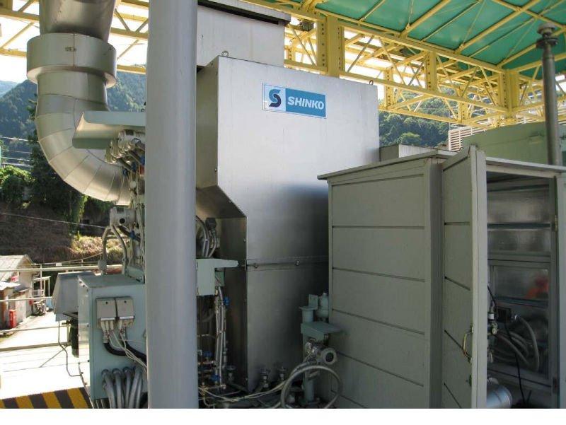 Used steam turbine generator power plant Shinko DNNNG7-55